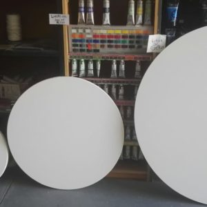 Round Canvases